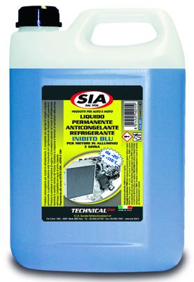 Liquido radiatori da -20° a +118° protettivo anticongelante - inibito Blu 4021