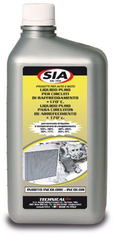 Liquido radiatori puro da diluire protettivo anticongelante - inibito Incolore 4031-I
