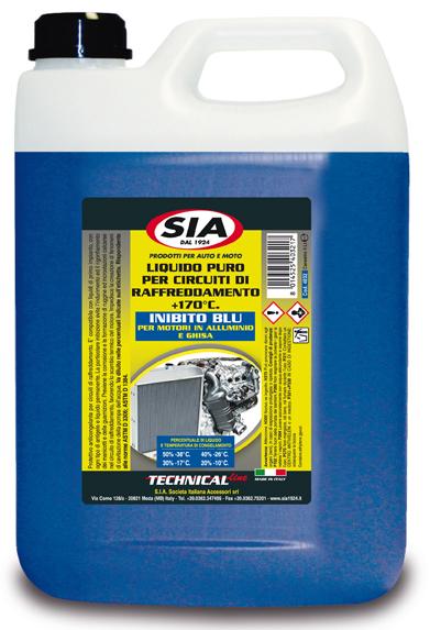 Liquido radiatori puro da diluire protettivo anticongelante - inibito Blu 4032