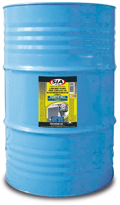 Liquido radiatori puro da diluire protettivo anticongelante - inibito Blu 4038
