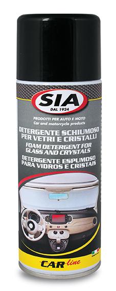 Detergente schiumoso per vetri e cristalli