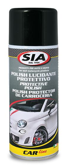 Polish spray per carrozzeria