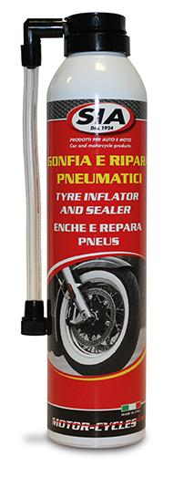 Gonfi a e Ripara pneumatici per moto 8710