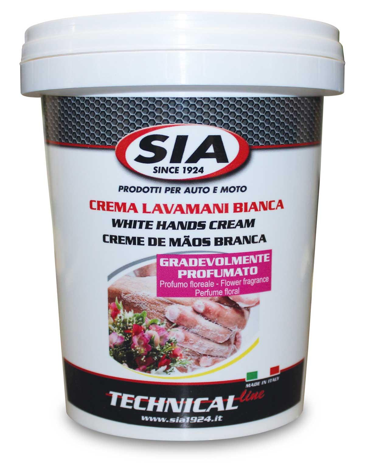 Nuovo formato per la crema lavamani bianca