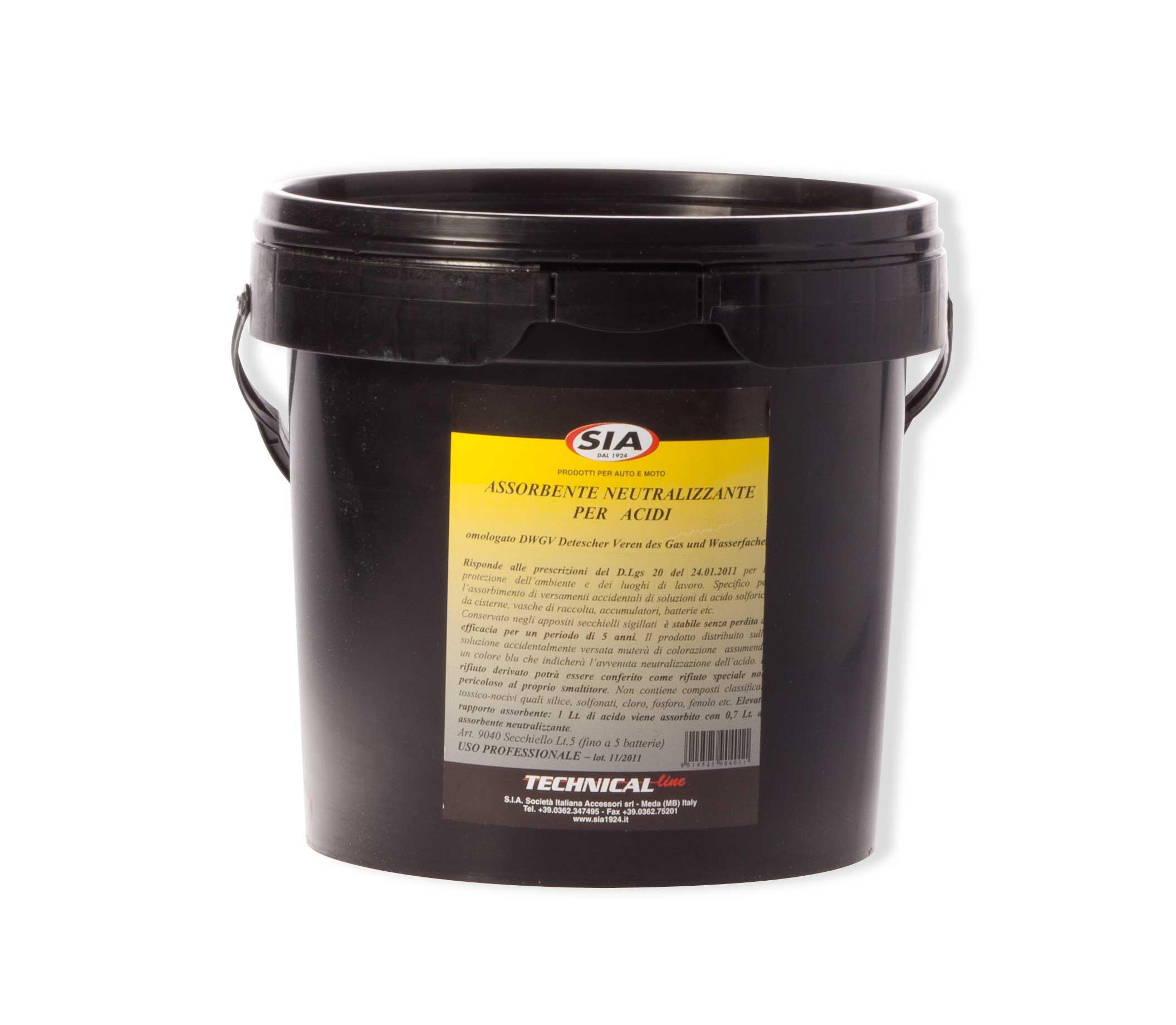 Assorbente neutralizzante acidi 9040