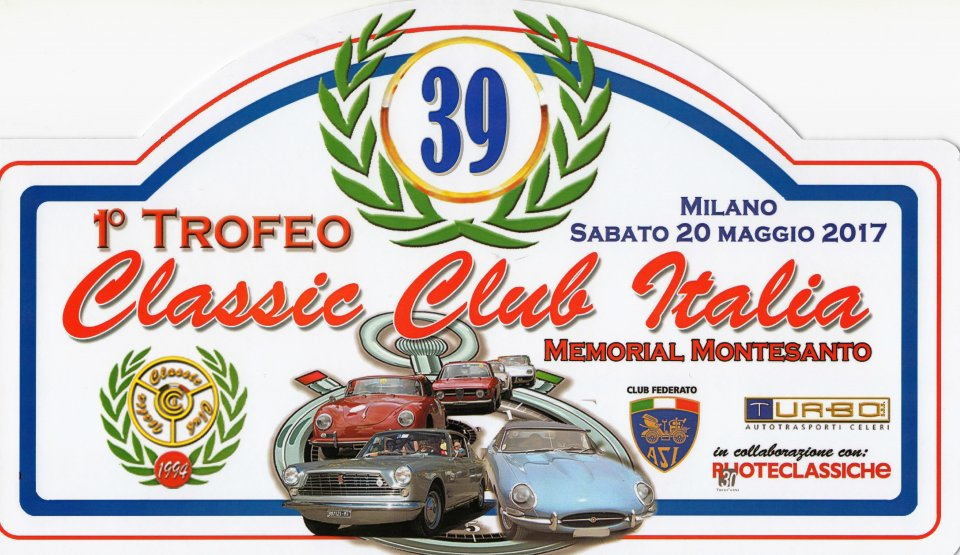 Memorial Montesanto, Milano 20 maggio 2017